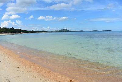 サムイ島ブーコ前のビーチ13