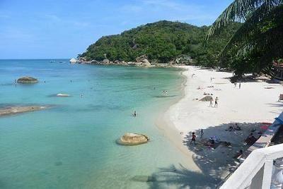 サムイ島のビーチ、クリスタルビーチ02