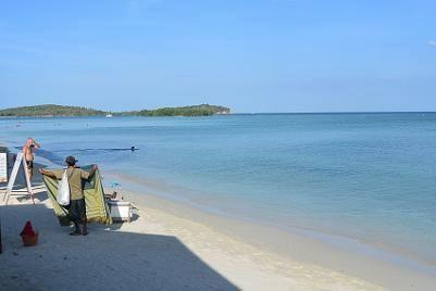 サムイ島のチャウエンビーチ11