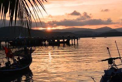 サムイ島の夕日7