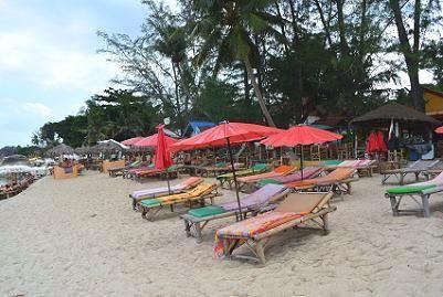 サムイ島のラマイビーチ10