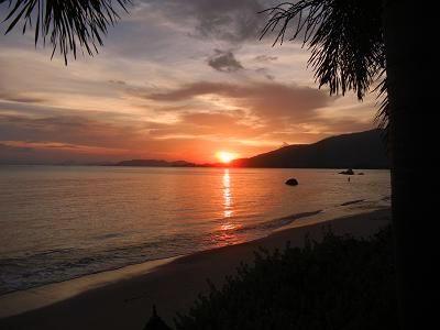 サムイ島の夕日9