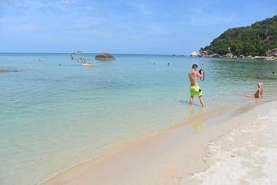 サムイ島のビーチ、クリスタルビーチ12