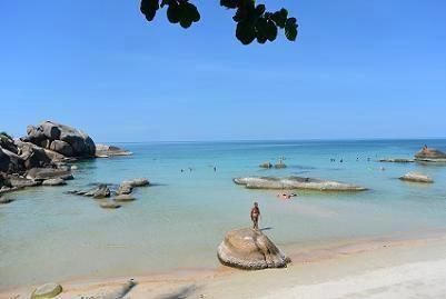 サムイ島のクリスタルビーチ05