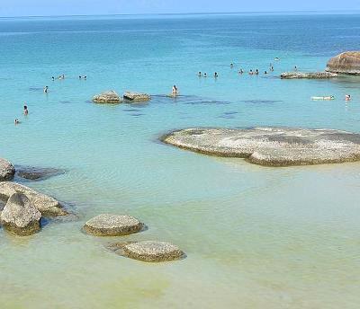 サムイ島のクリスタルビーチ04