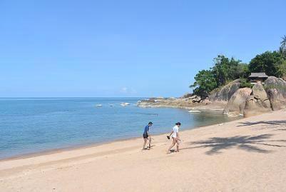 サムイ島のコーラルビーチ21