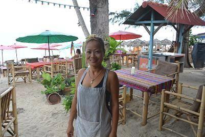 サムイ島のラマイビーチ21