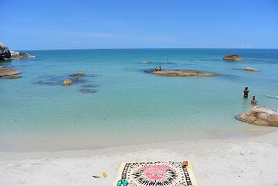 サムイ島のクリスタルビーチ7