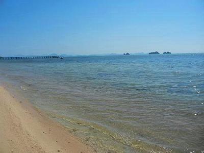 サムイ島の写真・サンセットビーチ025
