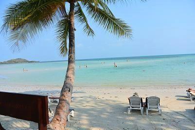 サムイ島のチャウエンビーチ北郊外13
