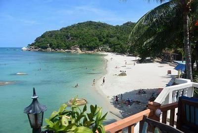 サムイ島のビーチ、クリスタルビーチ01
