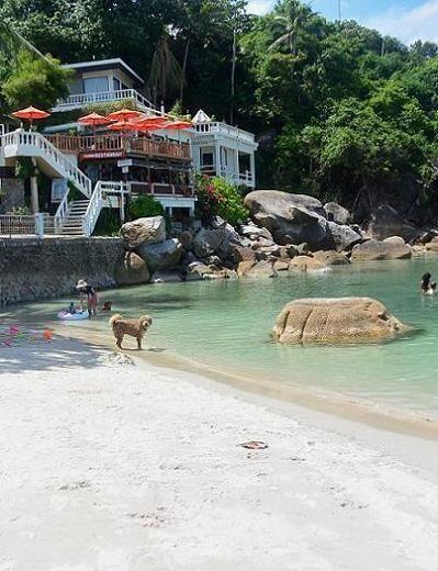 サムイ島のビーチ、クリスタルビーチ16