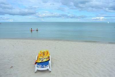 サムイ島のチャウエンビーチ南12