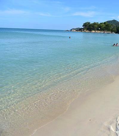 サムイ島のベストシーズンのビーチ