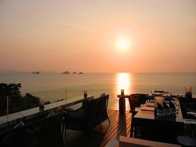 サムイ島の夕日10