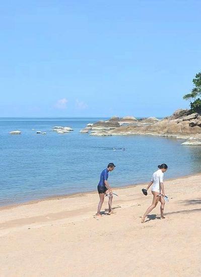サムイ島のコーラルビーチ20