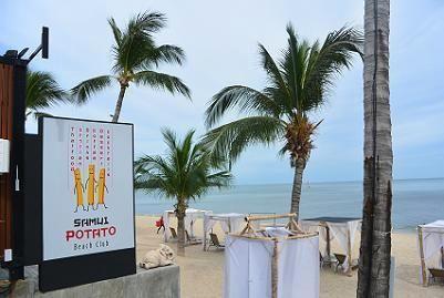 サムイ島のビーチクラブ7