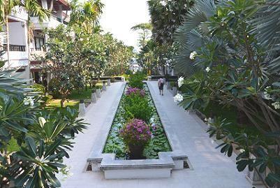 サムイ島のチャウエンビーチ北郊外1