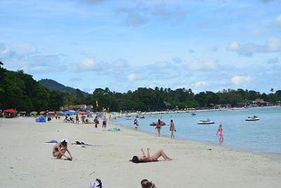 サムイ島のチャウエンビーチ12
