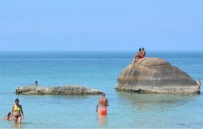 サムイ島のクリスタルビーチ12