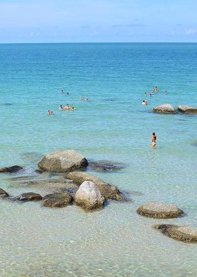 サムイ島のベストシーズンのビーチ01
