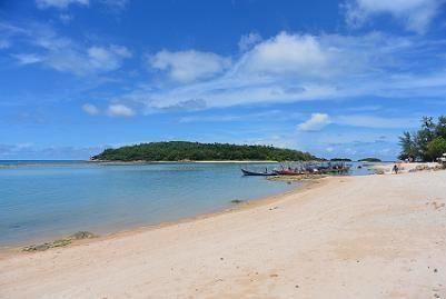 サムイ島のマトラン島周辺のビーチ11