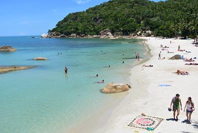 サムイ島のクリスタルビーチ5