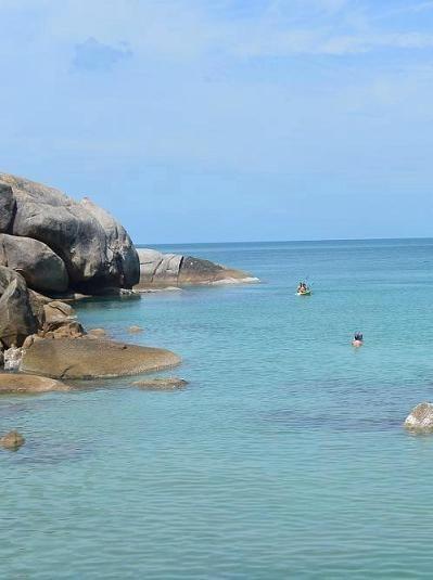 サムイ島のビーチ、クリスタルビーチ08