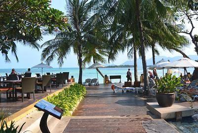 サムイ島のチャウエンビーチ北郊外2