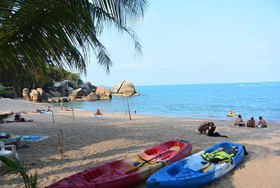 サムイ島のビーチ2