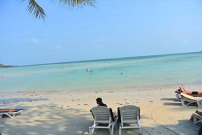 サムイ島のチャウエンビーチ北郊外20