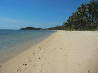 サムイ島の写真・サンセットビーチ016