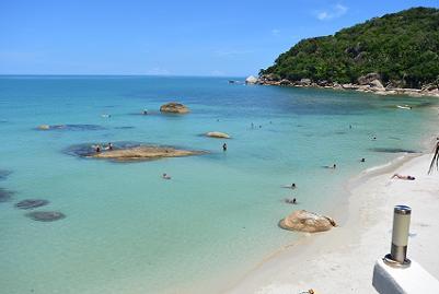サムイ島のクリスタルビーチ2