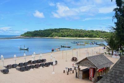 サムイ島のマトラン島周辺のビーチ5