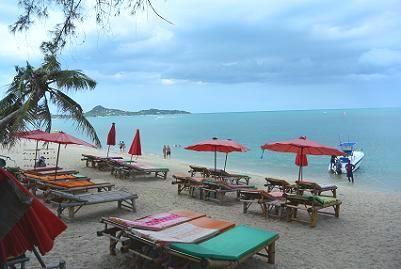 サムイ島のラマイビーチ23