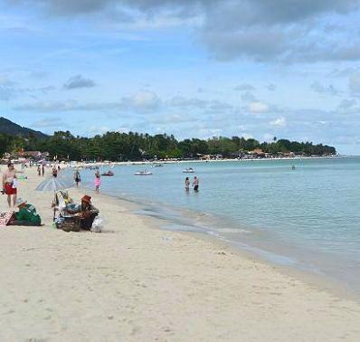 サムイ島のチャウエンビーチ13