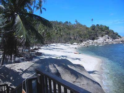 サムイ島シーラワディーのビーチ06