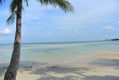 サムイ島チャウエンビーチ北郊外5