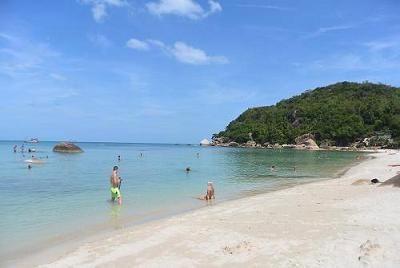 サムイ島のビーチ、クリスタルビーチ14