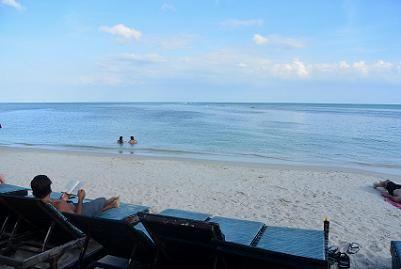 サムイ島のチャウエンビーチ23