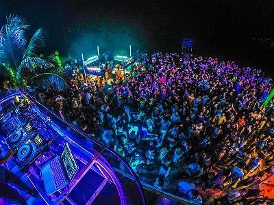 サムイ島のビーチパーティー01