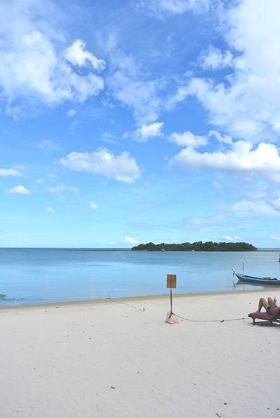 サムイ島のチャウエンビーチ北11