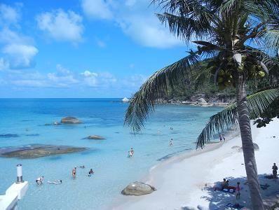 サムイ島の美しいビーチ