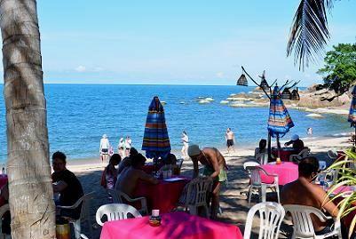 サムイ島のビーチ、コーラルベイ13