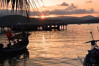 サムイ島の夕日6