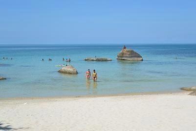 サムイ島のクリスタルビーチ15