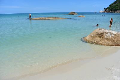 サムイ島のクリスタルビーチ11