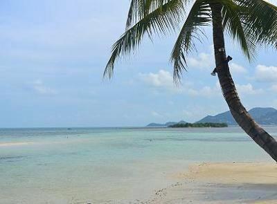 サムイ島チャウエンビーチ北郊外3